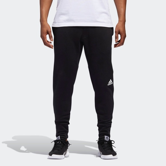 adidas fleece pants mens